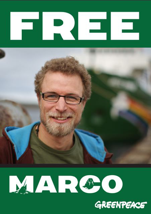 Free the Arctic 30!